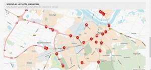 opstoppingen Nijmegen 2016
