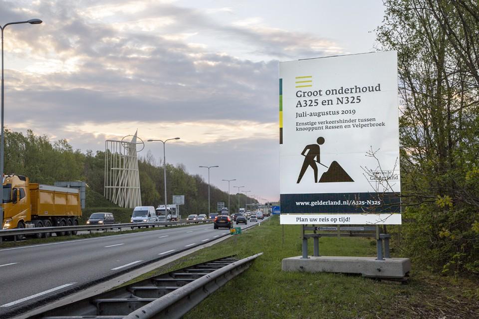 N325 richting Velperbroekcircuit