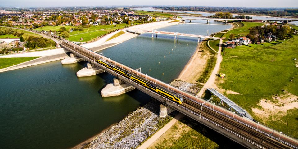 Nijmegen vanuit de lucht