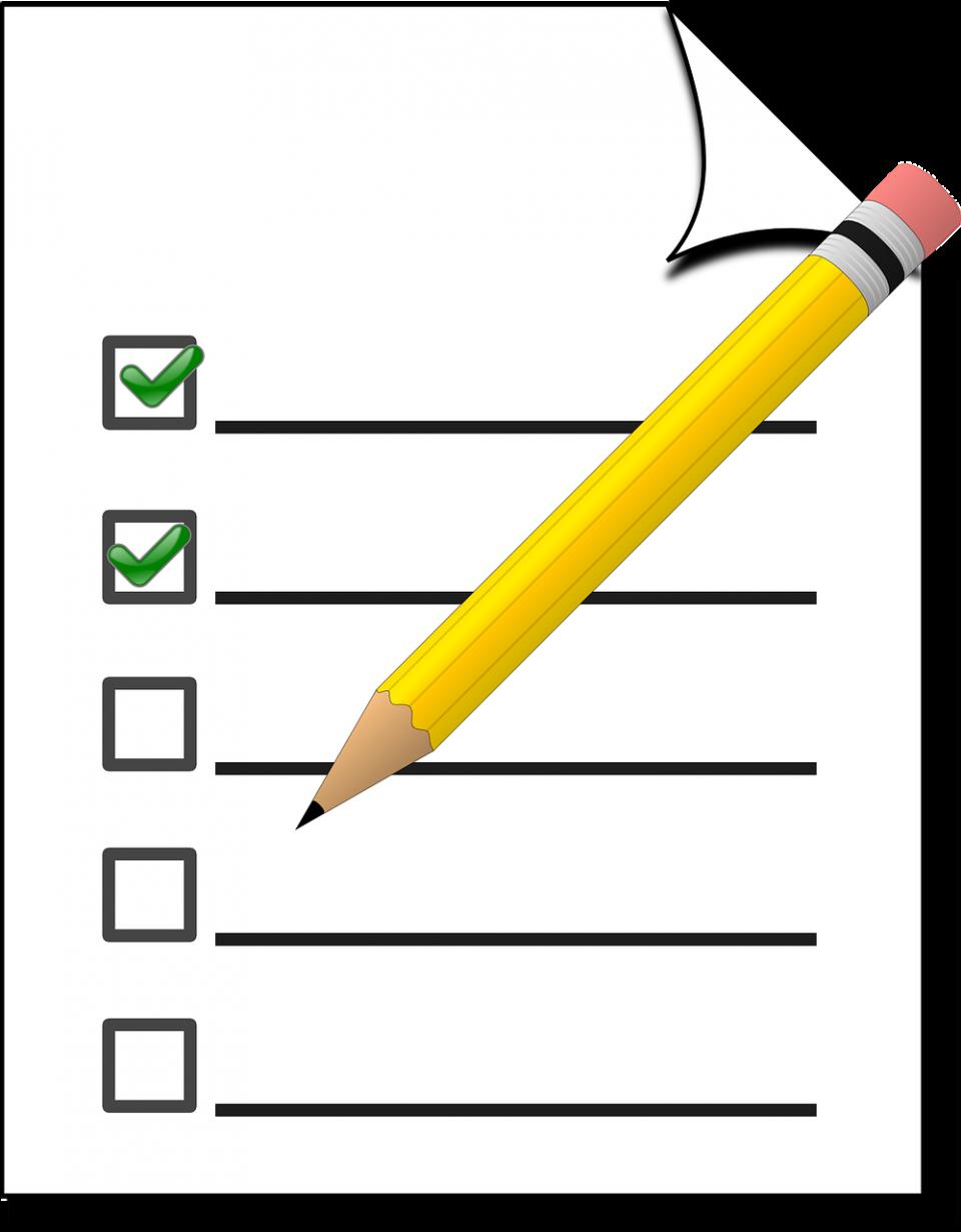 checklist-154274_1280